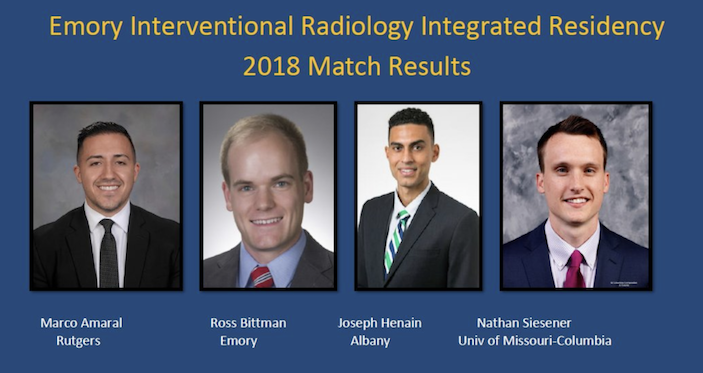 Emory Radiology Matches with New Class of Residents